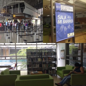 Riding the cable cars to Comuna 13; and exploring the San Javier library park in Medellín.